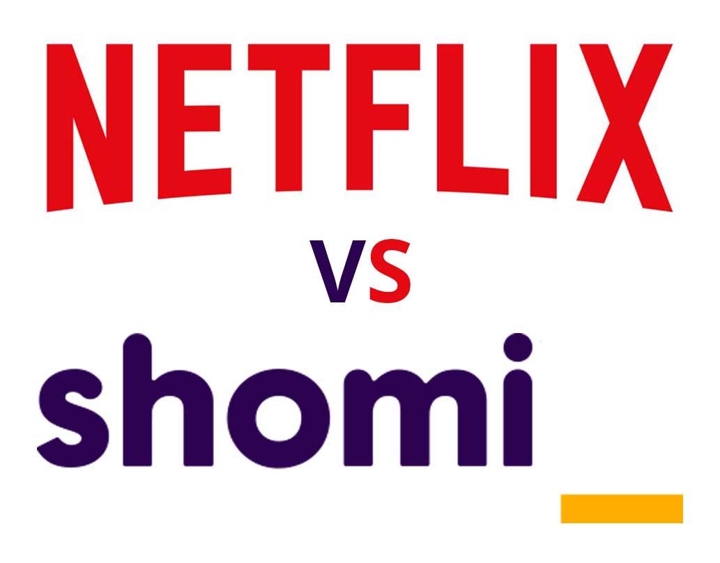 netflix versus shomi