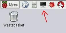 terminal icon on raspbian